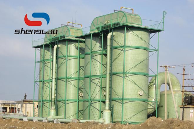 玻璃钢吸收塔设备的液位测量方法