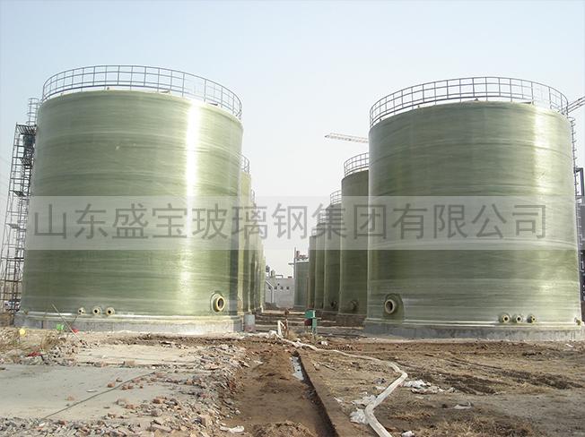山东金岭化工1000立方罐群