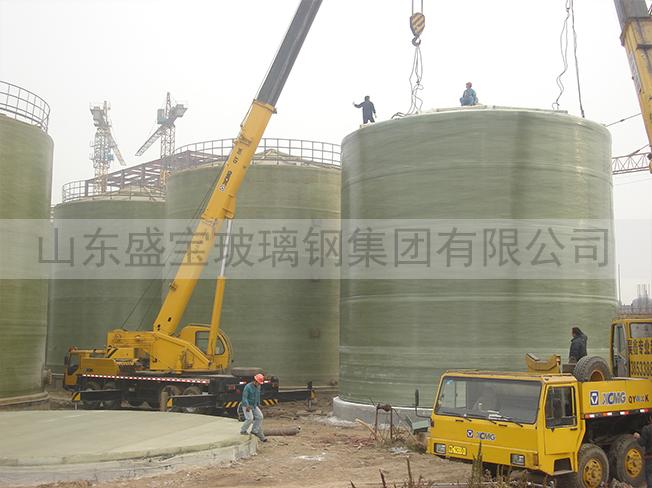 张家港洁利环保1500立方罐群